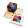 Cubo Binominal Montessori