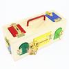 Caja Cerraduras Montessori