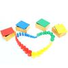 4 Cajas cilindros de colores Montessori