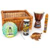Cajón instrumentos musicales étnicos 7pz
