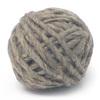 Lana de oveja color gris de 100grs