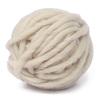 Lana de oveja color crudo de 100grs