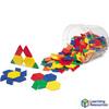Bloques Poligonales plásticos, 250pz
