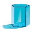 Cuerpos geométricos transparentes 14pz
