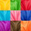 Set muselina 9 colores de 2x1.5mt cada uno