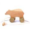 Oso de arrastre, serie madera nativa