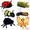 6 títeres dedo Insectos