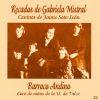 CD Recados de Gabriela Mistral