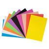 Set Goma Eva lisa 43x56cm 10 colores 50 und