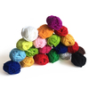 100 Mini Ovillos de Lana, colores surtidos
