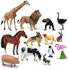 13 Animales surtidos en contenedor