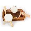 Bandeja instrumentos musicales infantiles 5pz