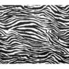 Velour Estampado cebra 2 x 1.50 mts