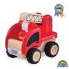 Mini Carro de Bomberos madera