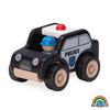 Mini Auto Policial madera