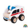 Mini ambulancia madera