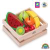 Cesta de frutas madera