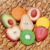 8 Piedras sensoriales frutas