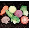 8 Piedras sensoriales vegetales