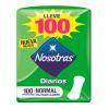 NOSOTRAS PROTECTORES DIARIOS NORMAL X100 UN