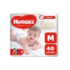 HUGGIES NATURAL CARE TALLE M 40 PAÑALES
