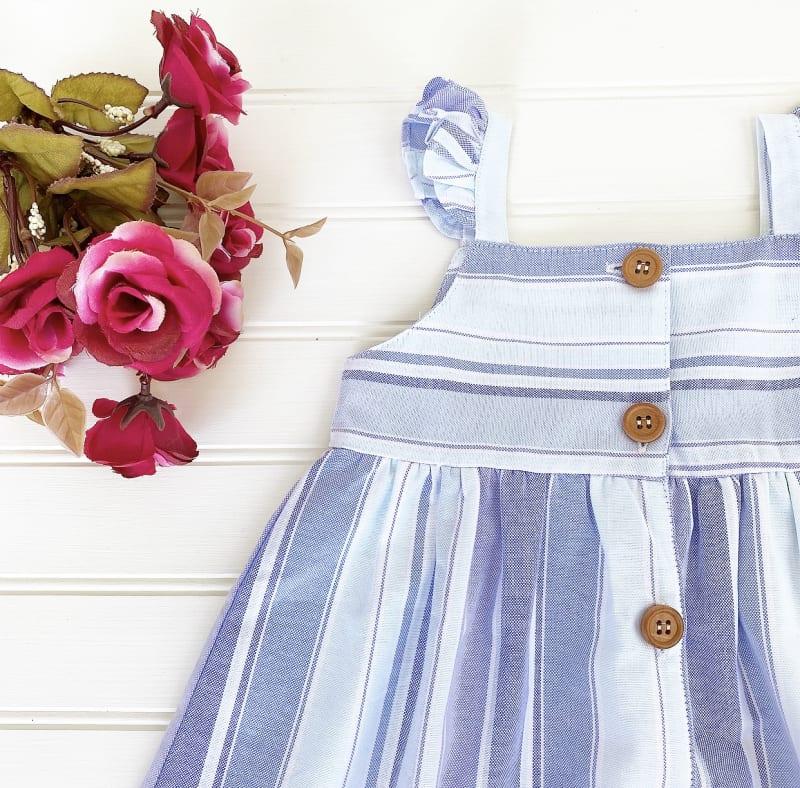 Vestido Violeta Rallas