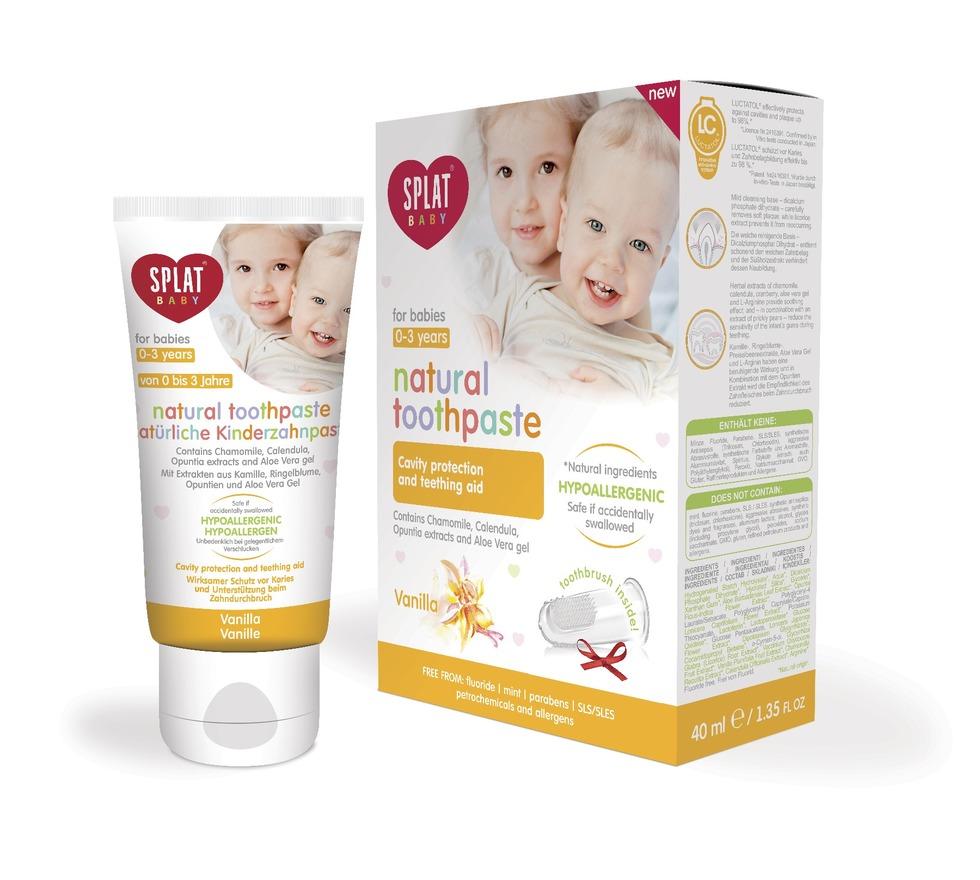 Baby 0-3 Años Vainilla c/ Cepillo