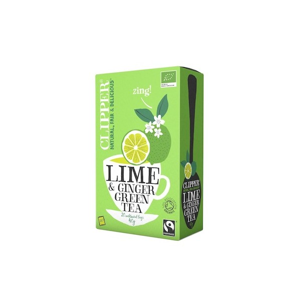 Green Tea Lime Ginger