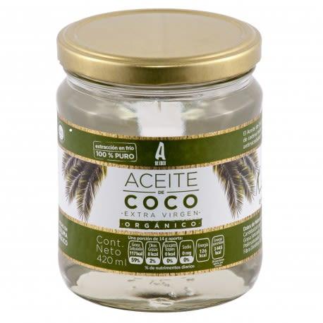 Aceite de Coco Extra Virgen Orgánico (384 gr)