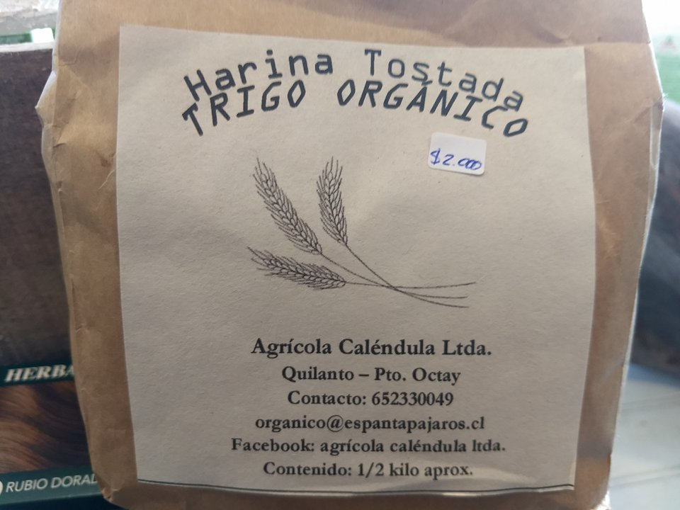 Harina Tostada de Trigo