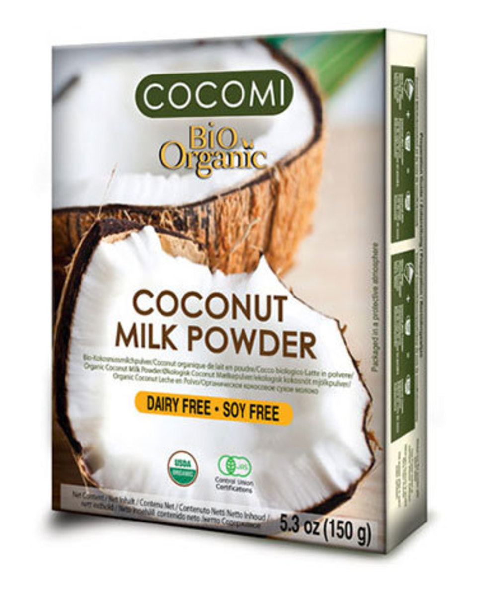 Leche de Coco en Polvo Organico