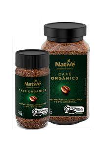 Cafe Organico Instantaneo Liofilizado (100% Arabica)