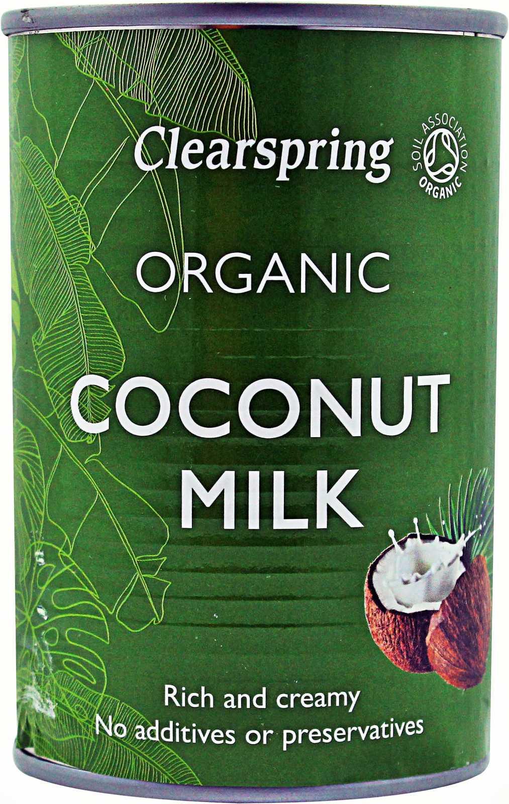 Leche de Coco Organica Clearspring