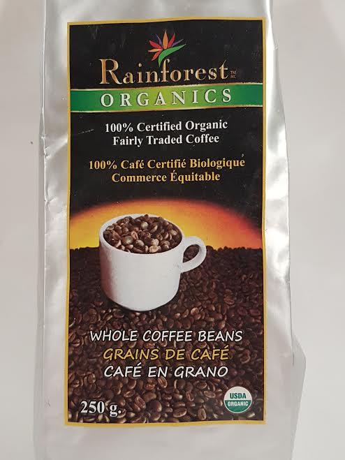 Cafe Organico Grano Entero