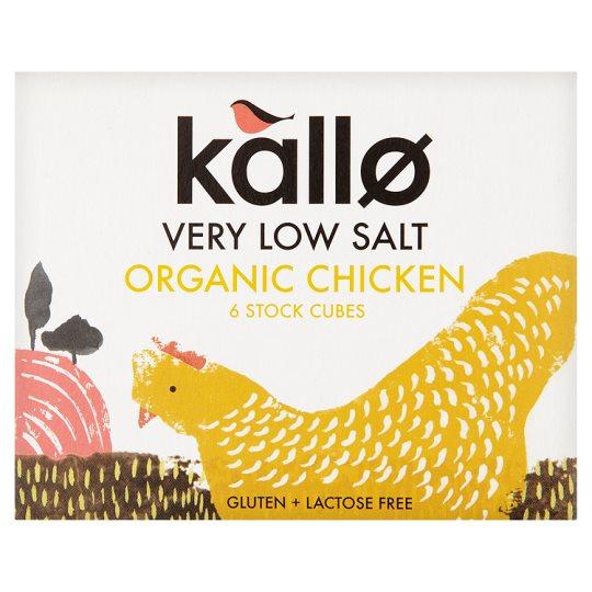 Caldo Orgánico en Cubos de Pollo