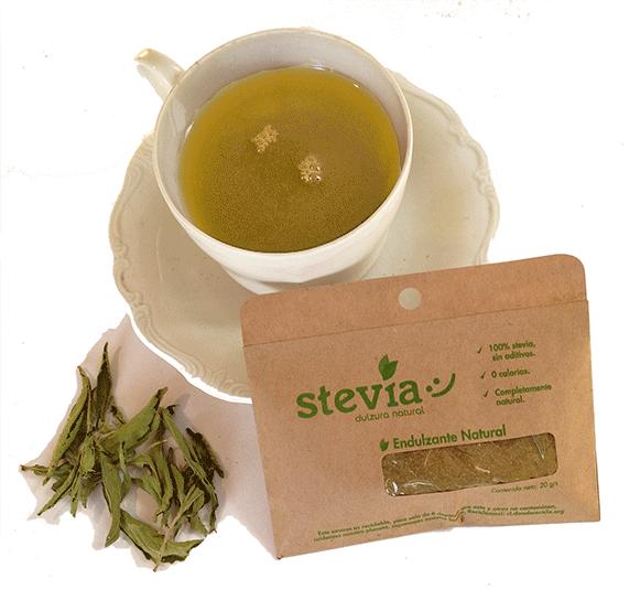 Stevia Hoja Sobre