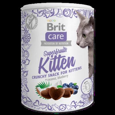 Brit Care Cat Snack Superfruits Kitten 100gr