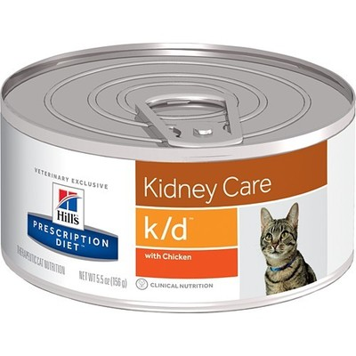 Hills Lata Kidney Care k/d Gato