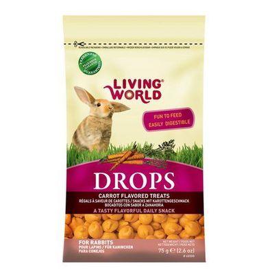 Hagen Living World Drops Conejo zanahoria 75 gr