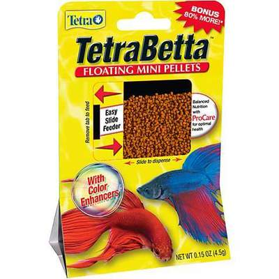 TetraBetta Floating Mini Pellets 2.5 g