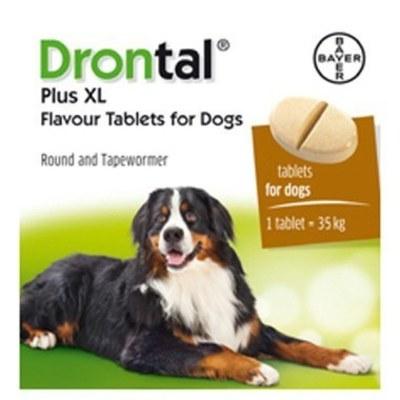 Drontal Plus Perros hasta 35 kg 1 tableta