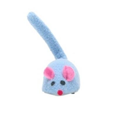 Hagen Cat Love Raton Mecanico Azul