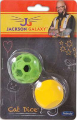 Jackson Galaxy Cat Dice x 2