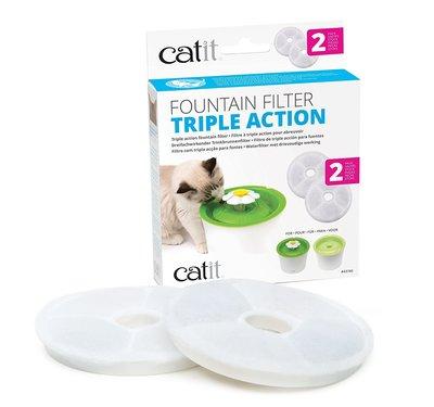 Cat It Filtro Fuente Triple Acción 2 unid