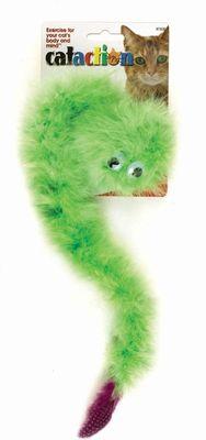 JW Cataction Boa Catnip verde