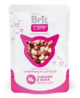 Brit Care Cat Chicken & Duck Pouch