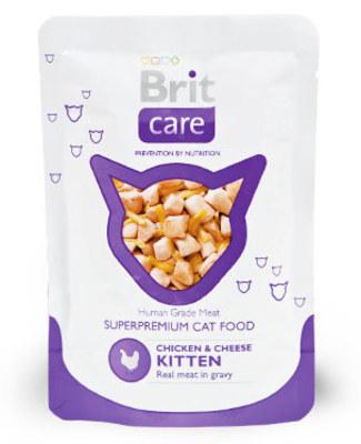 Brit Care Cat Chicken & Cheese Kitten Pouch