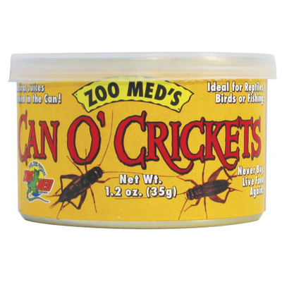 Mazuri Zoo Meds Can O Crickets Grillos 35 g