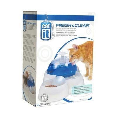 Hagen Cat It Fresh&Clear Bebedero Comedero Deluxe