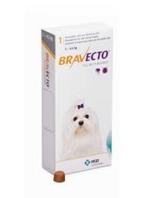 Bravecto 2-4.5 kg